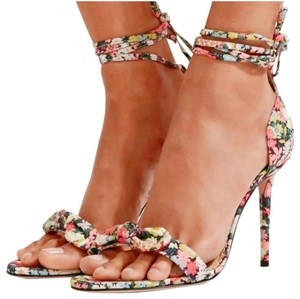 Charlotte Olympia Pink Green Pumps