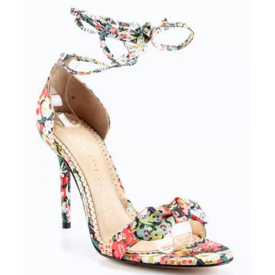 Charlotte Olympia Pink Green Pumps Image 1