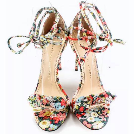 Charlotte Olympia Pink Green Pumps Image 2