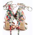 Charlotte Olympia Pink Green Pumps Image 3
