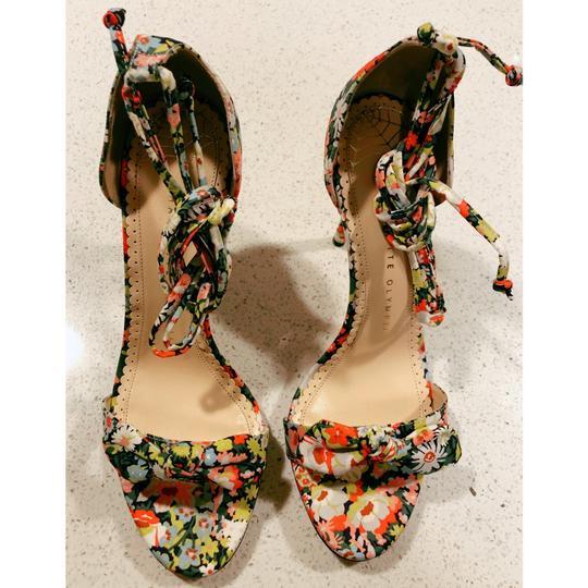 Charlotte Olympia Pink Green Pumps Image 4
