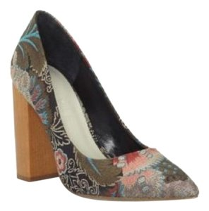 1.STATE Multi colored floral print Pumps