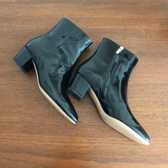 Gianvito Rossi Ankle Patent Ankle Black Boots Image 8