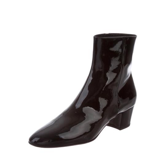 Gianvito Rossi Ankle Patent Ankle Black Boots Image 9