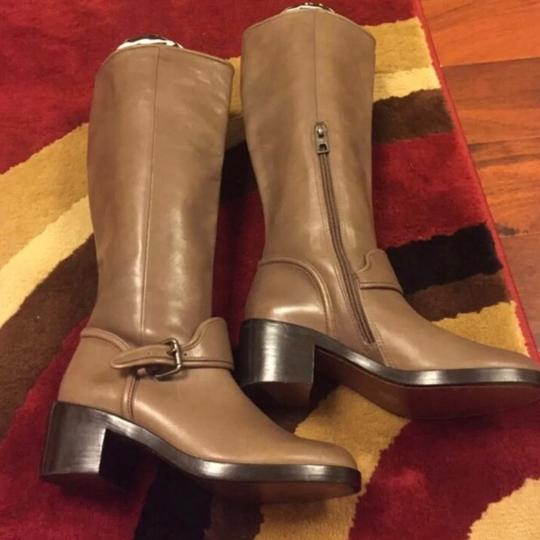 Coach Taupe Boots Image 1