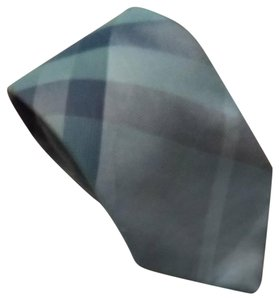 Burberry Burberry London Novacheck Blue Plaid Neck Tie
