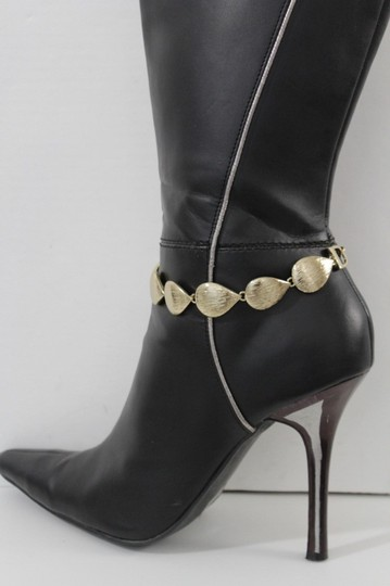 Alwaystyle4you Women Boot Chain Anklet Bracelet Heel Shoe Gold Drop Charm Jewelry Image 2