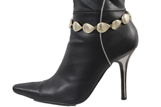 Alwaystyle4you Women Boot Chain Anklet Bracelet Heel Shoe Gold Drop Charm Jewelry Image 3