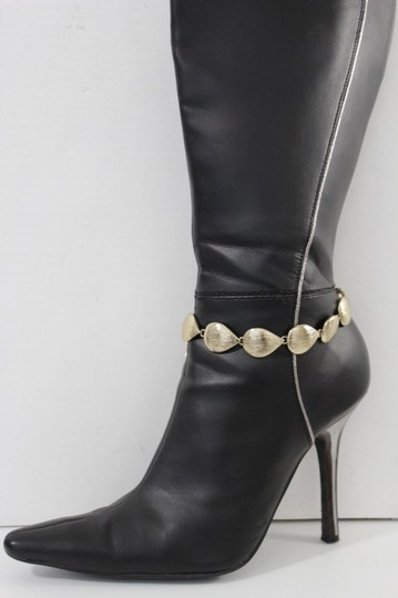 Alwaystyle4you Women Boot Chain Anklet Bracelet Heel Shoe Gold Drop Charm Jewelry Image 8