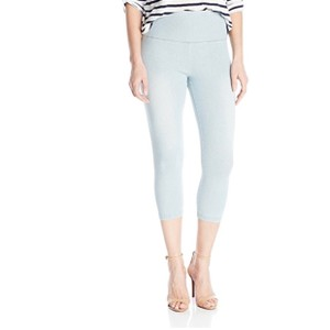 Lyssé Capri/Cropped Denim-Light Wash