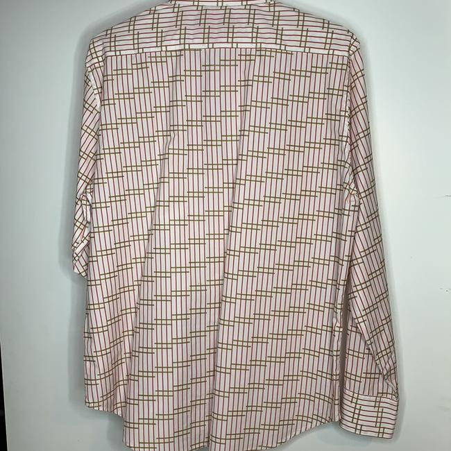Robert Graham Button Down Shirt White, Red , Green Image 1