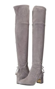 Tory Burch Winter Suede Leather Gray Boots