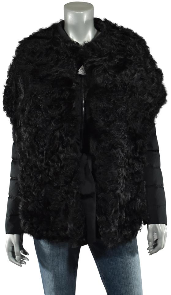f776c1121 Moncler Black Premiere Sable Shearling Down Jacket 1 S New Coat Size 4 (S)  69% off retail
