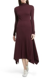 DARK CURRANT Maxi Dress by Theory