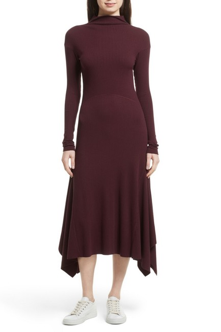 DARK CURRANT Maxi Dress by Theory Image 3