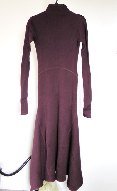 DARK CURRANT Maxi Dress by Theory Image 4