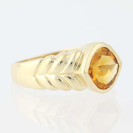 Other Citrine Solitaire Ring - 14k Yellow Gold N7537 Image 1