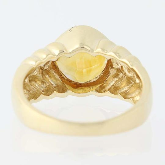 Other Citrine Solitaire Ring - 14k Yellow Gold N7537 Image 3