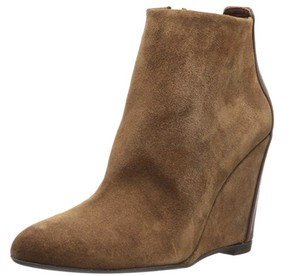 Delman Wedge Toffee Boots