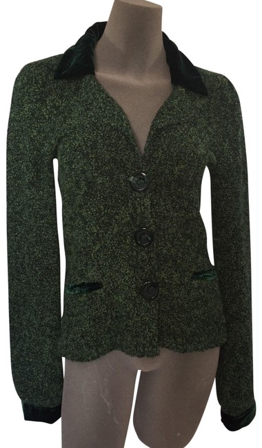 Preload https://img-static.tradesy.com/item/24262651/anthropologie-euc-cardigan-guinevere-wool-blend-s-green-sweater-0-3-650-650.jpg