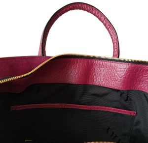 Burberry Tote in Dark Plum
