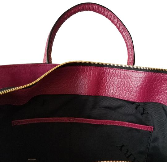 Preload https://img-static.tradesy.com/item/24262665/burberry-embossed-grain-check-dark-plum-leather-tote-0-4-540-540.jpg