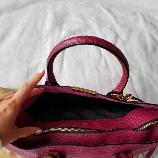 Burberry Tote in Dark Plum Image 2