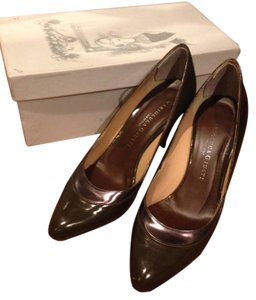 MarioLuca Giusti Brown Pumps