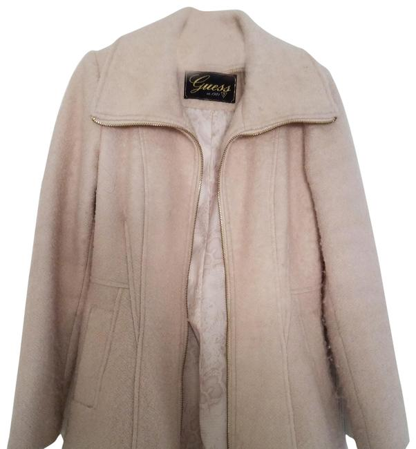 Preload https://img-static.tradesy.com/item/24262859/guess-by-marciano-neutral-vintage-coat-size-8-m-0-1-650-650.jpg
