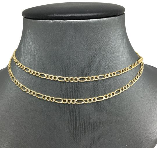 Preload https://img-static.tradesy.com/item/24262912/14k-two-tone-gold-figaro-chain-250mm-22-necklace-0-1-540-540.jpg