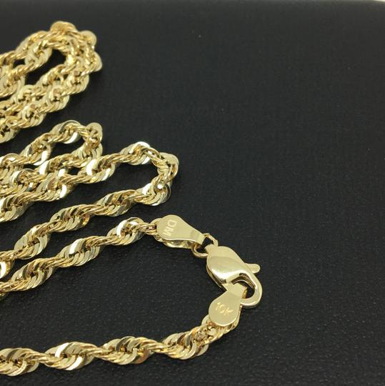 other 10K Yellow Gold Rope Chain ~3.00mm 22 inches Image 3