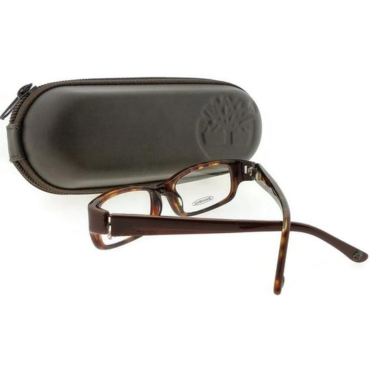 Timberland TB5052-050-47 Rectangle kid's Brown Frame Clear Lens Eyeglasses Image 1