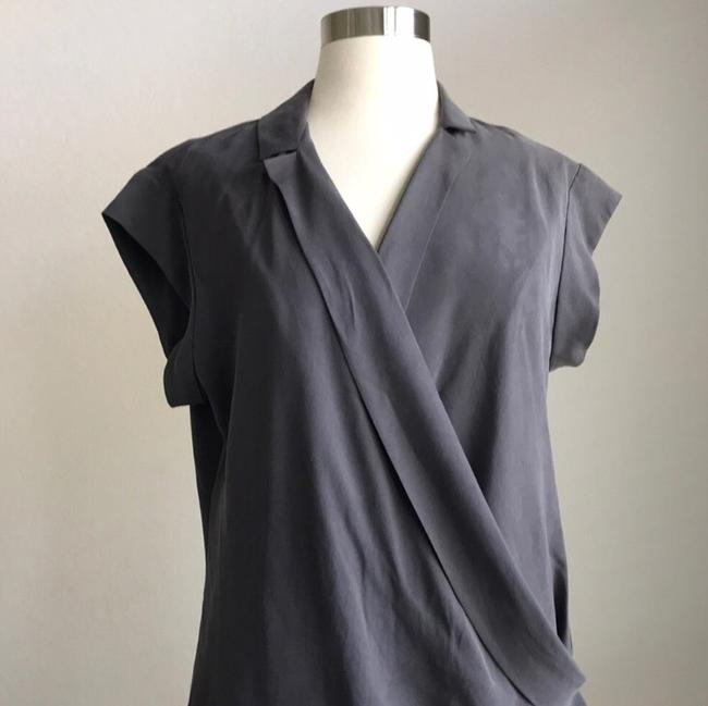 Halston short dress Grey on Tradesy Image 2