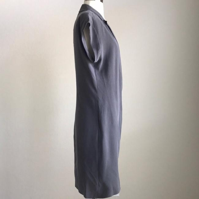 Halston short dress Grey on Tradesy Image 4