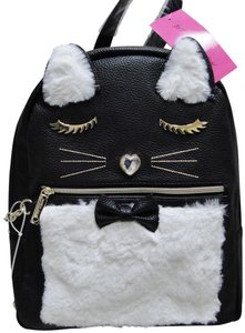 Betsey Johnson Kitsch Medium Card Case Backpack