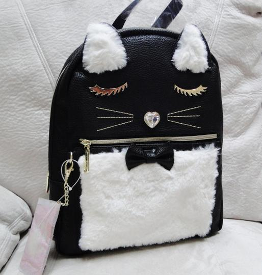 Betsey Johnson Kitsch Medium Card Case Backpack Image 1
