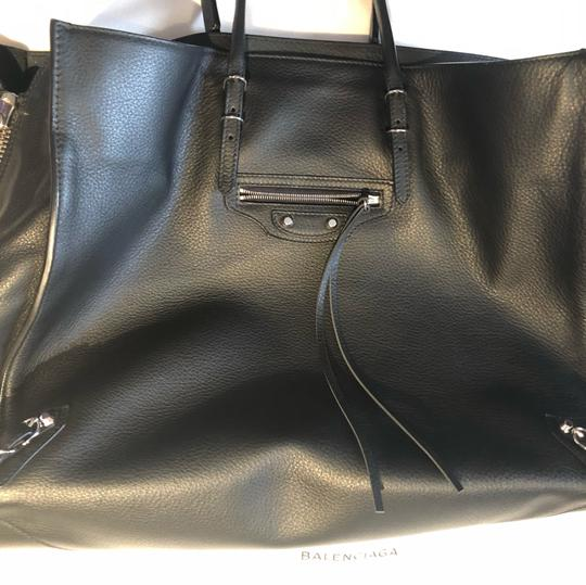Balenciaga Brand New Tote,Tag Not Attached Dust Bag Included Tote in black Image 2