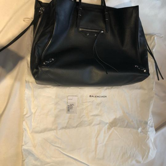 Balenciaga Brand New Tote,Tag Not Attached Dust Bag Included Tote in black Image 3