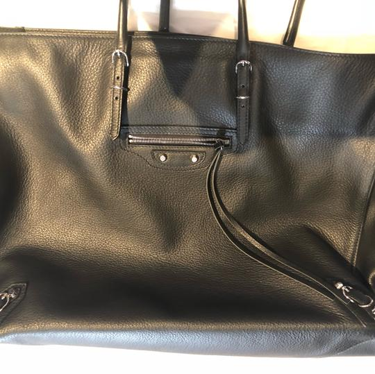 Balenciaga Brand New Tote,Tag Not Attached Dust Bag Included Tote in black Image 9