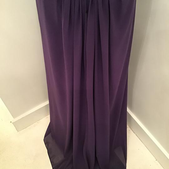 Cameron Blake Grape Chiffon 216687 Formal Bridesmaid/Mob Dress Size 10 (M) Image 7