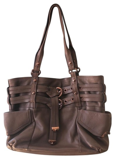 Preload https://img-static.tradesy.com/item/24263278/b-makowsky-taupe-and-rose-gold-embellishments-leather-tote-0-3-540-540.jpg
