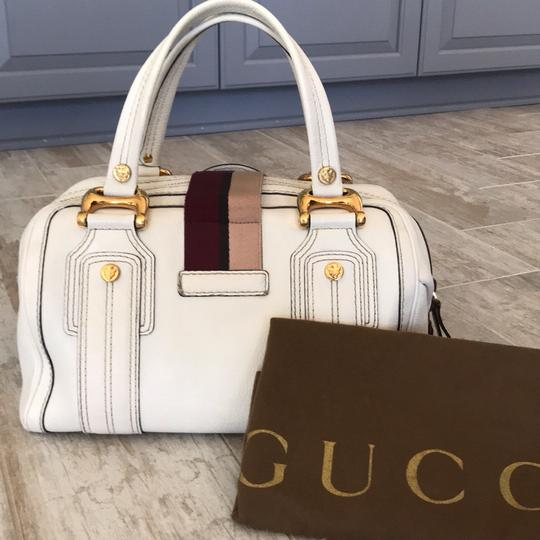 Gucci Satchel in white Image 1