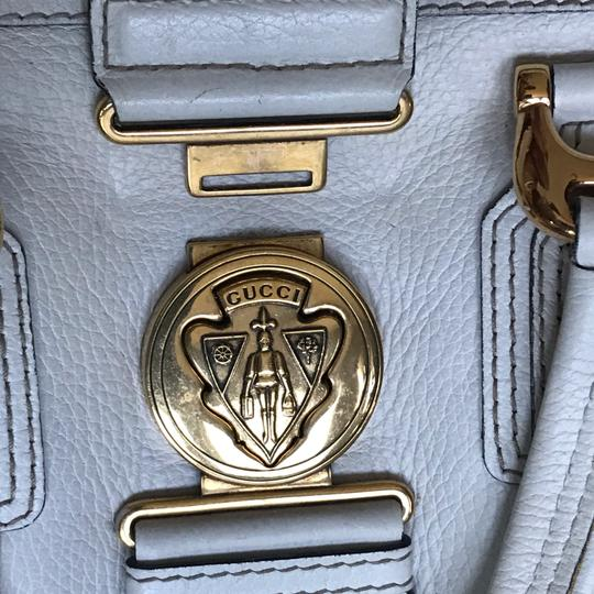 Gucci Satchel in white Image 10