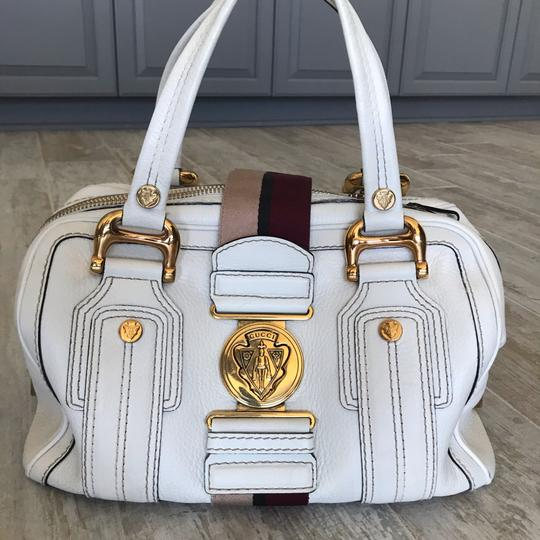 Gucci Satchel in white Image 11