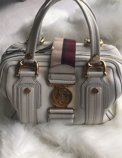 Gucci Satchel in white Image 2