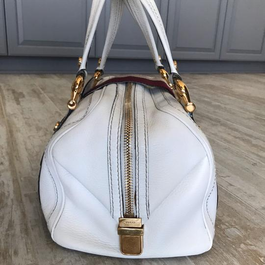 Gucci Satchel in white Image 3