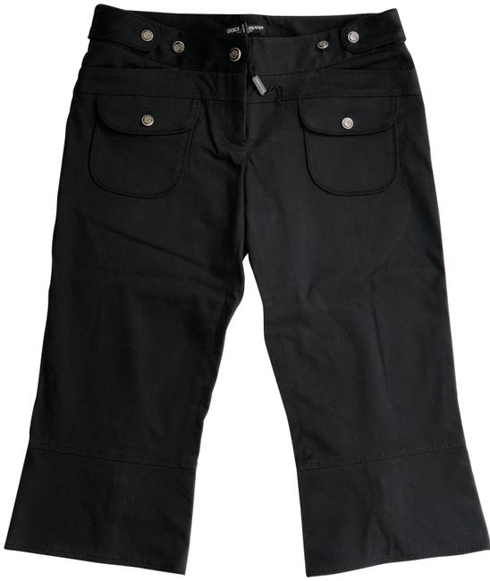 Preload https://img-static.tradesy.com/item/24263400/dolce-and-gabbana-black-vintage-pants-with-d-and-g-crest-capris-size-8-m-29-30-0-3-650-650.jpg