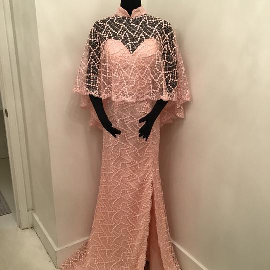 Preload https://img-static.tradesy.com/item/24263425/terani-couture-shrimp-lace-1811m6569-formal-bridesmaidmob-dress-size-10-m-0-0-540-540.jpg