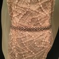 Terani Couture Shrimp Lace 1811m6569 Formal Bridesmaid/Mob Dress Size 10 (M) Image 5