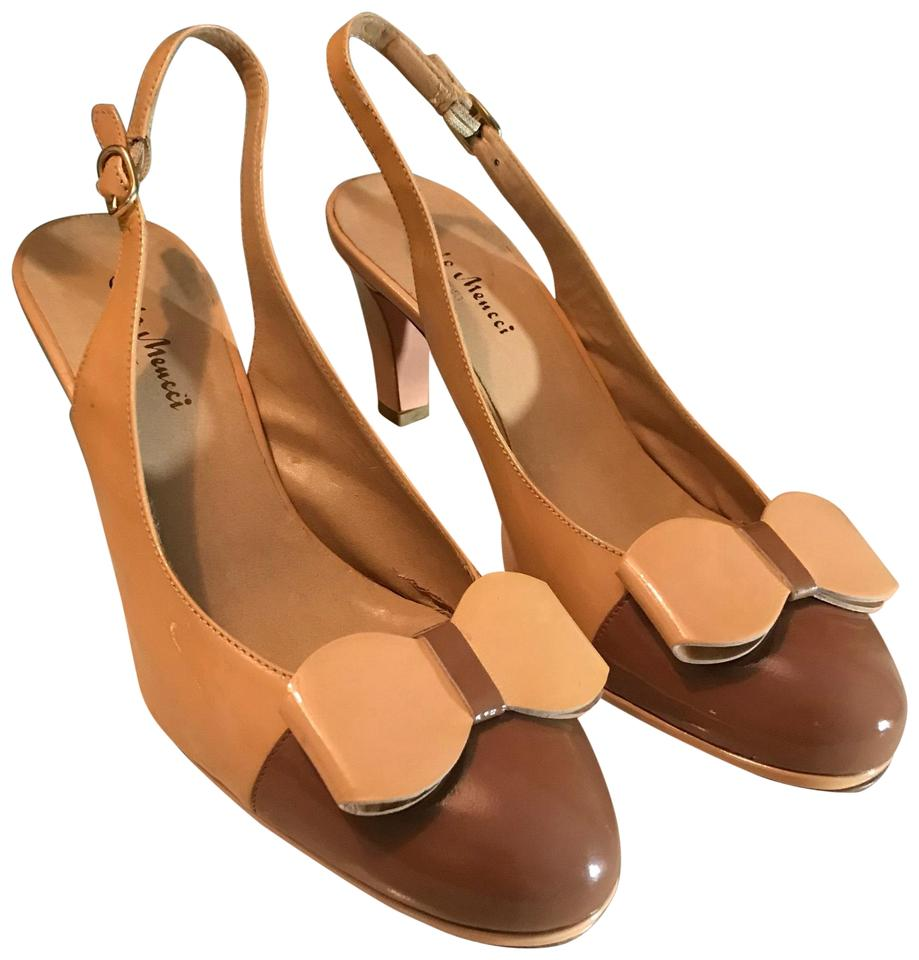 ad2d7b5577d9 Sesto Meucci Brown Comfort Pumps. Size  US 8 Regular (M ...